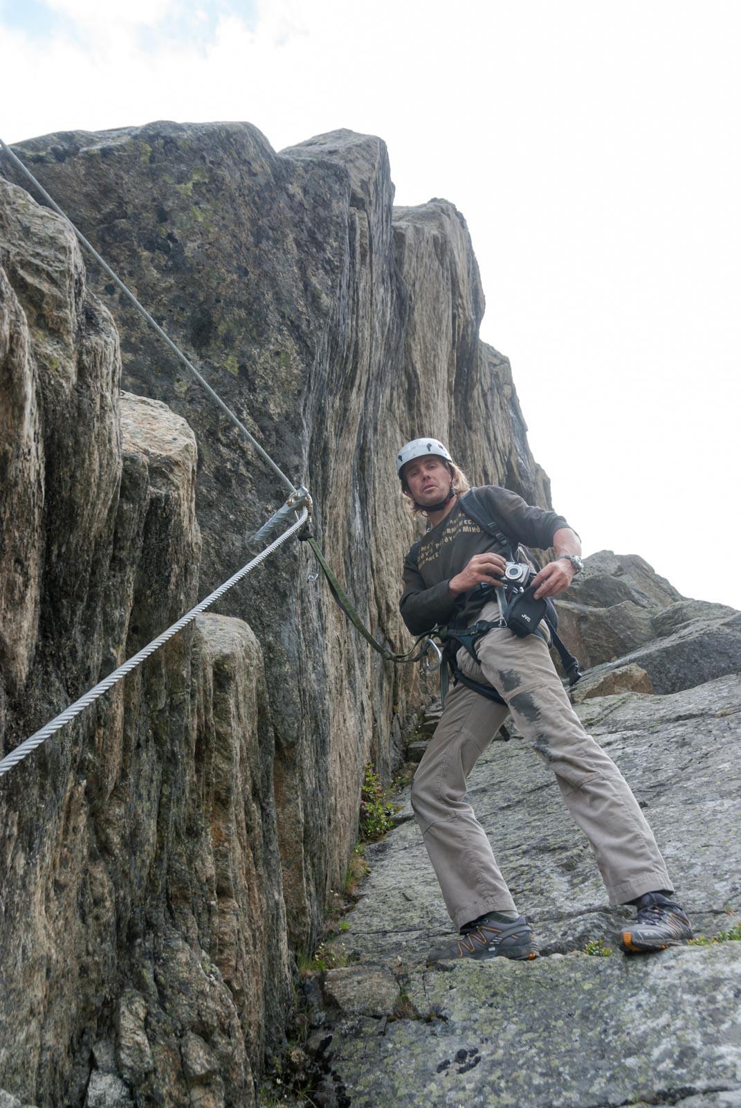 Pitztaler Steinbock Klettersteig extreme Route