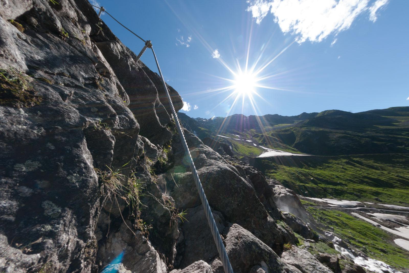 Pitztaler Steinbock Klettersteig Familien-Route
