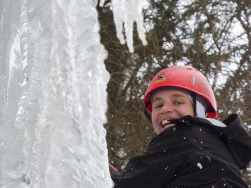 28. Jänner 2012 Eisklettern