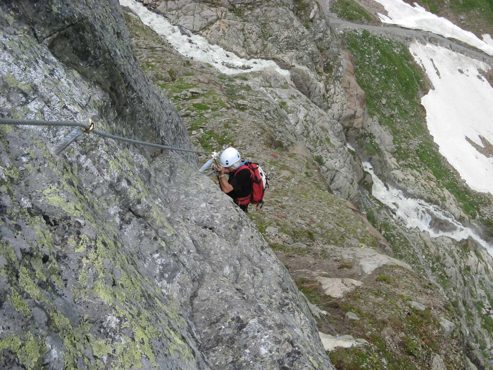 Pitztaler Steinbock Klettersteig